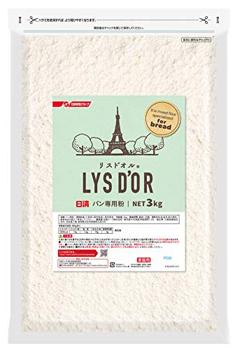 日清 リスドオル チャック付 3kg×4袋