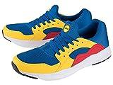 LIDL Zapatillas deportivas TGL EU, Azul y amarillo., 38 EU