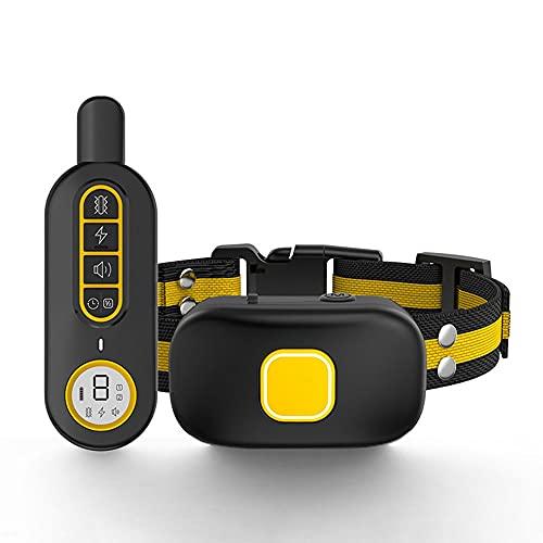 Automático Premium Collar Antiladridos para Electrico Collares Anti Ladridos Dispositivo Antiladrido Collare Entrenamiento Vibración (Feature : Black Remote Control)