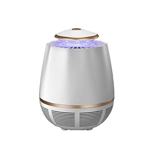 Mosquito Killer Lampe Électronique Bug Zapper LED Piège Lampe USB Powered Insect Catcher Smart Light Control Pour L'intérieur Chambre Extérieure,White