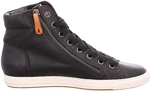 Paul Green Damen Sneaker 1230 1230-351 schwarz 329231