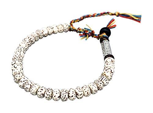 Tibetan Buddhist Bodhi Seed Om Mani Padme Hum Mantra Bracelet