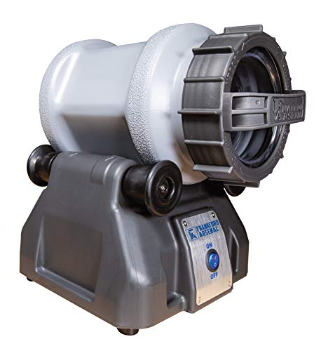 Frankford Arsenal Platinum Series Rotary Tumbler Lite with Clear Viewing Window and Leakproof Seal for Cleaning and Polishing During Reloading
