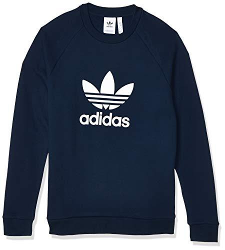 adidas Trefoil Crew Sweatshirt, Hombre, Collegiate Navy, L