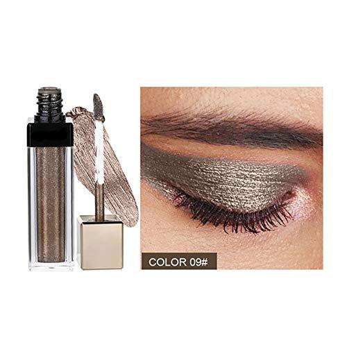 Liquid Glitter Eyeshadow 12 Color Magnificent Metals Glitter Smoky Flüssiger Lidschatten Eyeliner