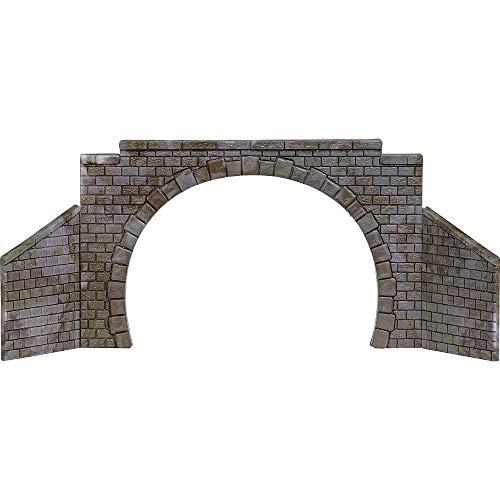 Busch 8841 N, TT Tunnel-Portal 2gleisig Fertigmodell