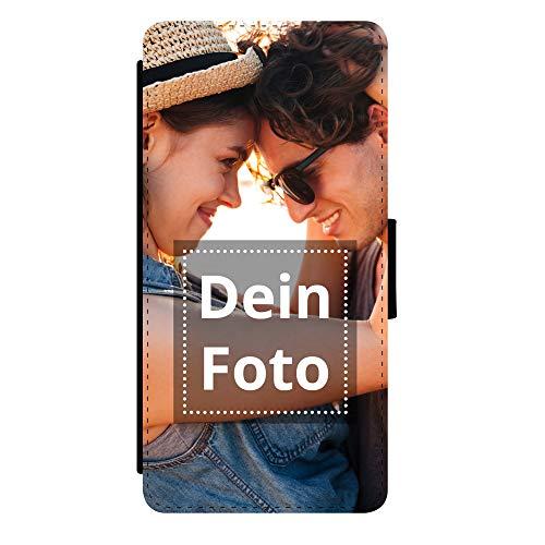 PhotoFancy Handyhülle Samsung Galaxy® A70 Handyhülle mit eigenem Foto Bedrucken – Smartphone Case als personalisierte Schutzhülle (Flipcase)