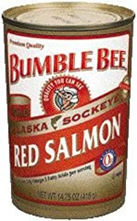 Bumble Bee Red Salmon - 12 Pack