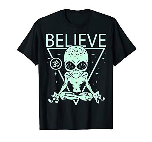 Area 51 Alien Clothing & Aliens Apparel - Believe Alien T-Shirt