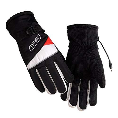Samber Elektrische Beheizbare Handschuhe Motorrad Heizhandschuhe Thermische Winterhandschuhe für Männer und Frauen