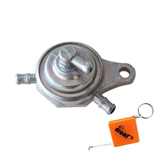 HURI Unterdruck Benzinhahn ür China Roller 50ccm + 125ccm 2 Takt + 4Takt Rex Baotian