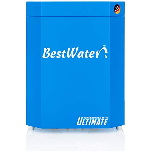 BestWater Jungbrunnen 66-00 Ultimate blau inkl. Designer Entnahmehahn matt