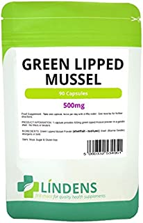 Lindens Green Lipped Mussel Extract 3-PACK 270 Capsules 500mg Quality Supplement