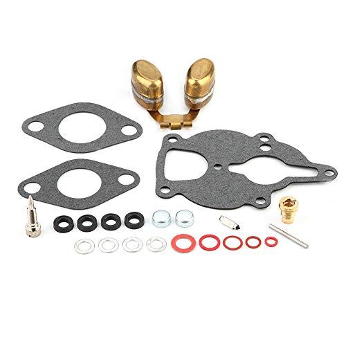 Carburetor Kit, 23pcs/set Carburetor Repair Kit & Float for Zenith Wisconsin Engine.