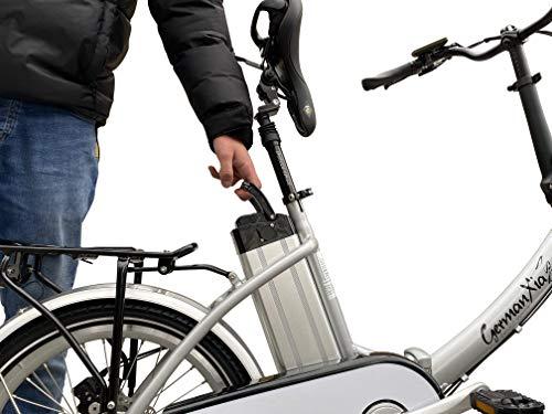 GermanXia Elektro-Faltrad Mobilemaster Touring CH 7G Shimano 20 Zoll, eTurbo 250 Watt HR-Antrieb, bis zu 138 km Reichweite nach StVZO kaufen  Bild 1*