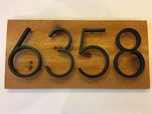 Custom House Numbers Sign Rustic Ranking TOP1 Floating Bombing free shipping - Ceda
