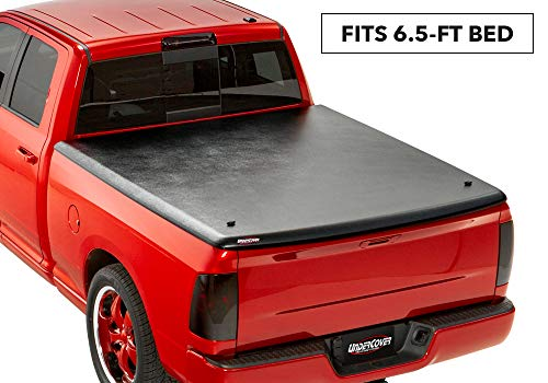 Undercover Classic One-Piece Truck Bed Tonneau Cover | UC3070 | Fits 09-20 Dodge Ram 15002500/3500 6'4' Bed,Black Textured