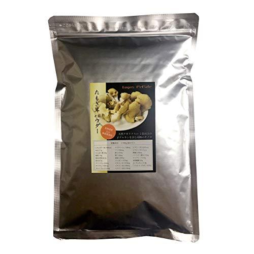 ロゴスペット 犬用おやつ 北海道産たもぎ茸パウダー 無添加 犬猫用 200g