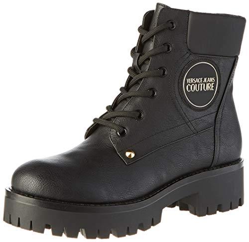 VERSACE JEANS COUTURE Damen Shoes Combat Boots, Schwarz (Nero 899.0), 35 EU