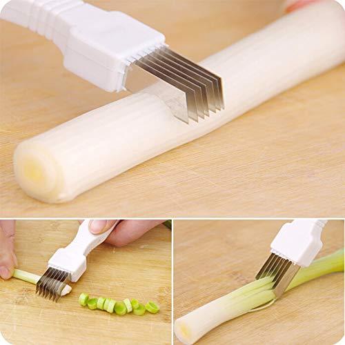 Creativo Cuchillo Cortador de Cebolla ralladores Herramienta Vegetal Herramientas de Cocina Accesorios de Cocina Gadgets hogar