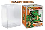 MALKO Pop Protector 0.5 mm Thick Plastic Display Case for 6 Inch Vinyl Figures (6 Pack)