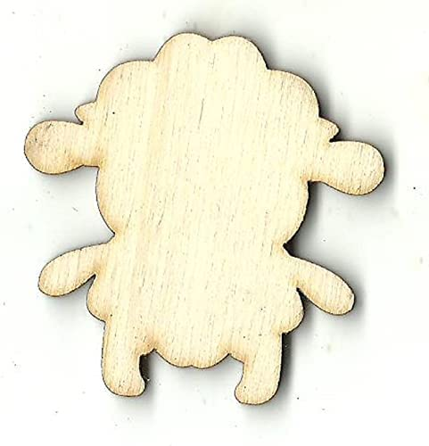 No Hole Sheep - Laser Cut Out Supply Special sale item Unfinished Craft Shape shipfree Wood