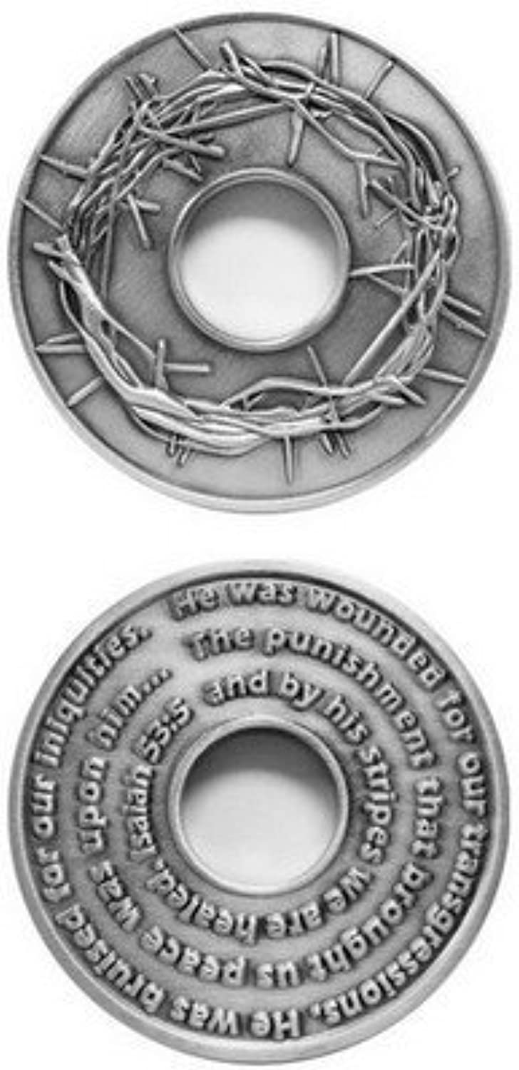 Crown of Thorns Challenge Coin by Military Challenge Coins