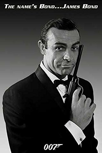 James Bond 007 - Sean Connery - Filmposter Kino Movie 007 - Grösse 61x91,5 cm