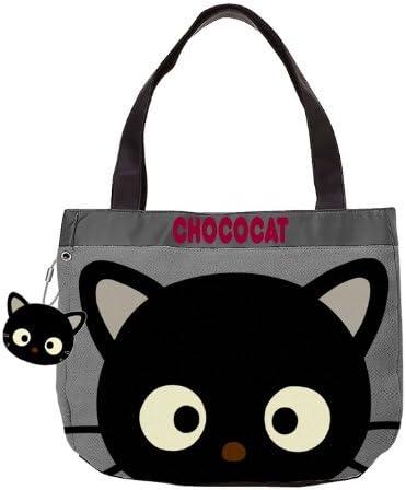 Closeup Chococat Shoulder Tote Bag