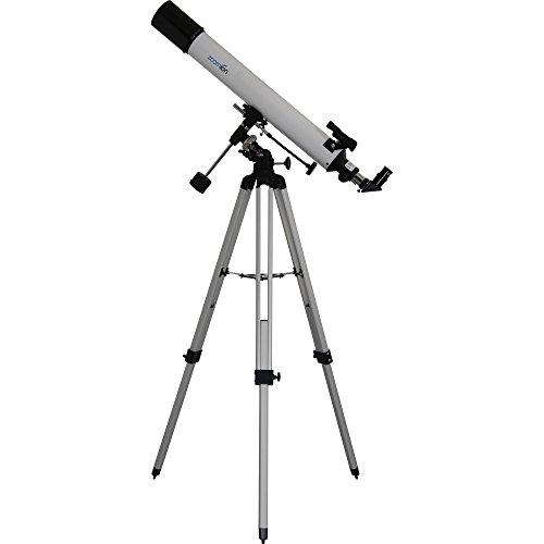 Zoomion Apollo 80/900 EQ telescoop voor kinderen en beginners in de sterrenkunde - Refractor Lensensenset met statief, oculairen, zoeker