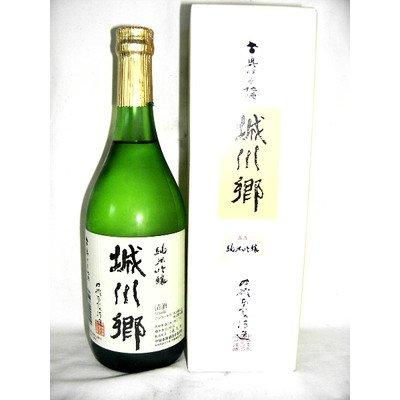 中城本家酒造『城川郷 純米吟醸』