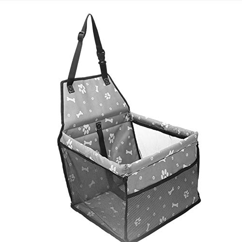 WYSTLDR Car Carrier Bag Pad Pet Dog Waterproof Dog Seat Basket Safe Carry Cat Puppy Bag Travel Mesh Hanging Bags Car Seat Cover Fold Dog Carriers