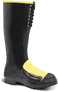 Men's 16 Inch Meta Pac Met Steel Toe Work Boot, Black,