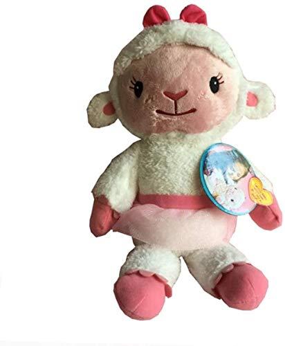 HOOPOO Plüschtier Plüschtiere 36cm Lambie Doc McStuffins Puppe Mcstuffin Lambie Schaf gefüllte Puppe Weich Tiere