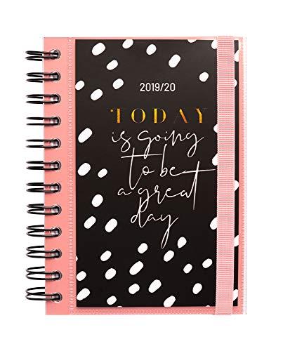 Erik - Agenda con Planner Giornaliero 2019/2020, 10 mesi - Glitter