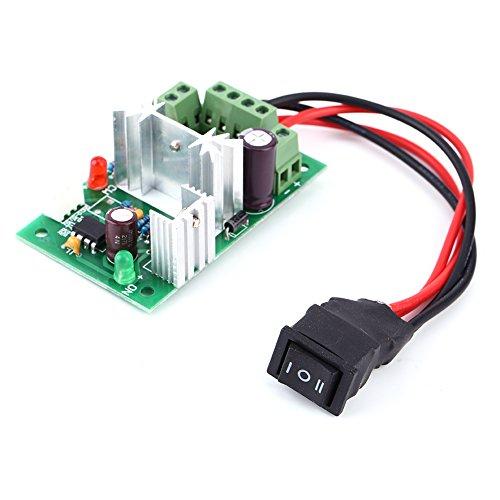 CCM6N 150W 6V 12V 24V Reversing Switch Adjustable DC Motor Speed Controller PWM