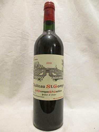 saint-georges saint-émilion château saint-georges rouge 2000 - bordeaux