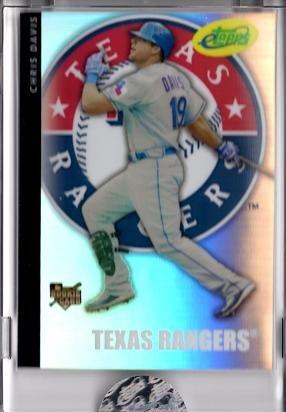 2008 eTopps (Topps) Baseball #53 Chris Davis Rookie Card - Only 749 made! - In hand!