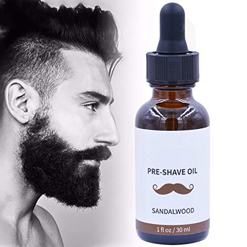 Huile de barbe pour homme pour la croissance de la barbe, huile de soin nourrissante, douce barbe, antibactérienne, antistatique, huile essentielle de rasage, huile essentielle de Yiitay