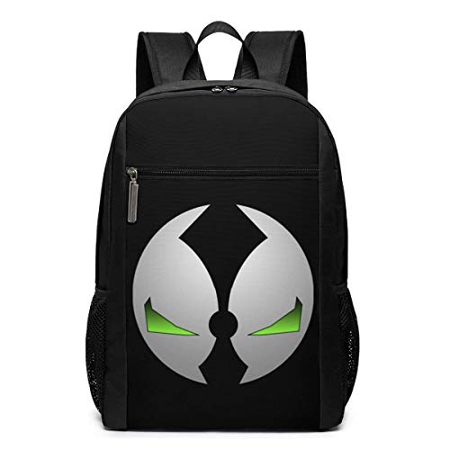 Lawenp Spawn Backpack 17 Inch Laptop Bags College School Backpack Casual Daypack for Travel