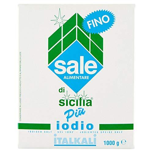 Sale di Sicilia Più Iodio Fino - 1000 gr