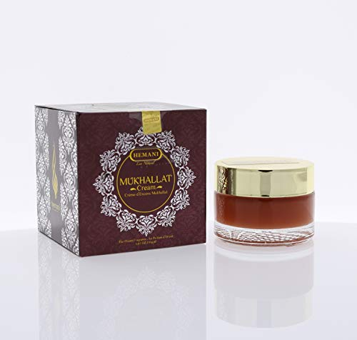 Hemani   Arabian Solid Perfume - Mukhallat  Alcohol-free Solid Perfume  Best Gift for Ramadan, Long-Lasting Cream Based Perfume for Men & Women, Arabian Mukhallat Essence