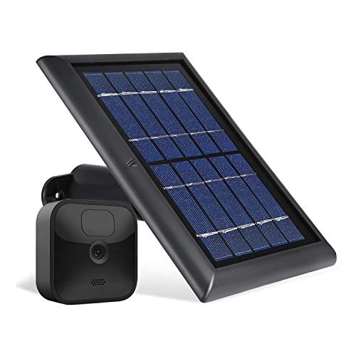 Wasserstein Solar Panel with Internal Battery Compatible with Blink Outdoor & Blink XT2/XT Camera...