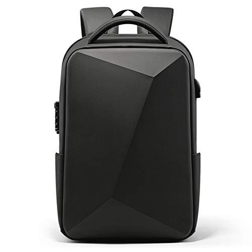 Timagebreze Mode Ordinateur Portable Sac à Dos Anti-Vol éTanche éCole Sacs à Dos USB Charge Hommes Affaires Sac à Dos A