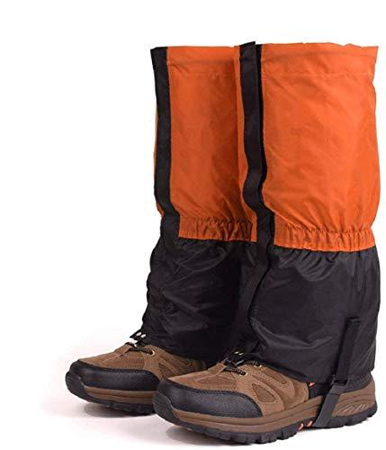 SqSYqz Leg Gaiter Serpiente Polainas de la Guardia Impermeable al Aire Libre de la Nieve de Arranque Polaina Unisex Que va de excursión protección para Las piernas Esquí de Montaña Caza Escalada