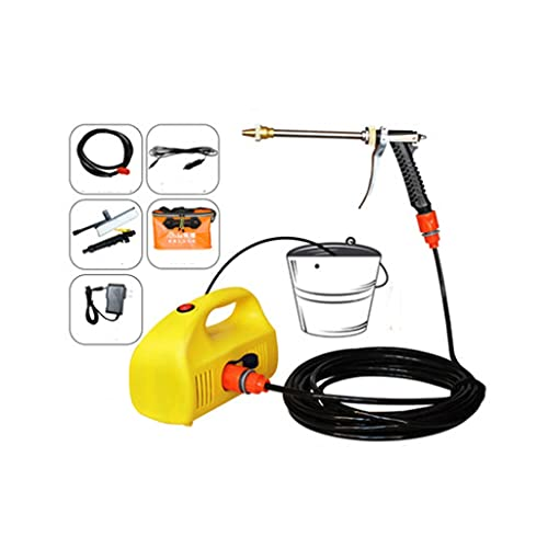 DJASM xjddq Electric Pressure Washer High Pressure Power Washer Machine All- Hose Reel Detergent Tank Best for Cleaning Car/Vehicle/Floor/Wall/Furniture/Outdoor