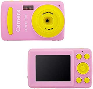 FairOnly Mini Children Digital Camera Video Camcorder 720P HD 4 X Zoom Video Camera with 2.4 inch TFT LCD Screen Pink