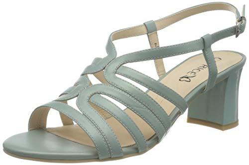 Caprice Damen 9-9-28301-26 Sandale mit Absatz, Mint Perlato, 36 EU