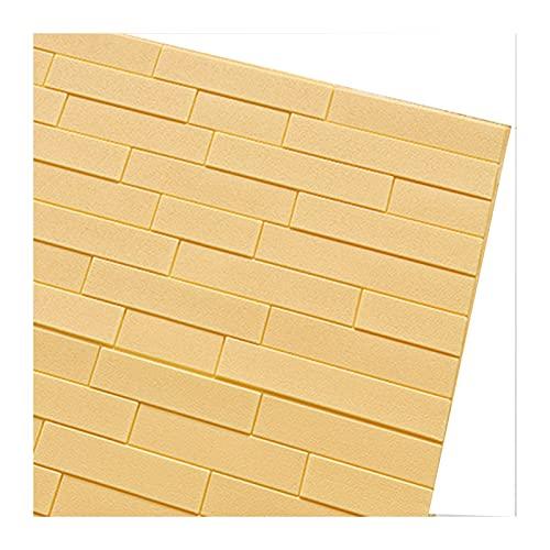 ZHANWEI 3D Papel Pintado, Patrón Imitación Ladrillo Patrón Tridimensional Pegatinas Impermeable Y Autoadhesivo. Fondo Pantalla, Dormitorio Sala Estar Pared Fondo Usar (Color : B, Size : 3PCS)