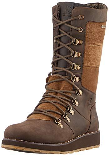 Kamik Womens Ariel Winter Boot, Chocolate, Size 7.5